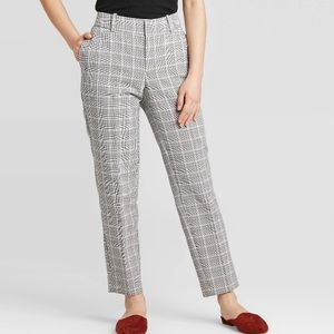 A New Day Plaid Slim Ankle Pant